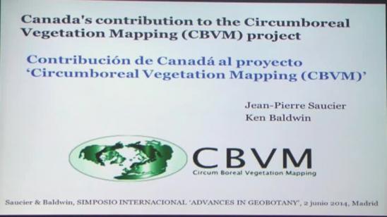 Contribución de Canadá al proyecto 'Circumboreal Vegetation Mapping (CBVM)'