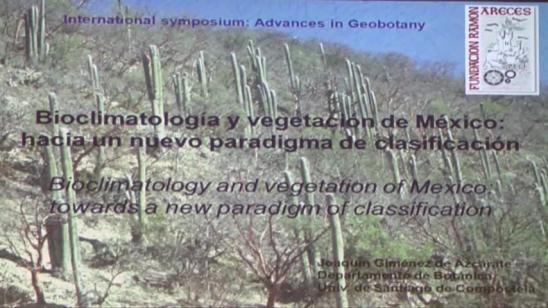 Bioclimatología y vegetación de Méjico: hacia un nuevo paradigma de clasificación