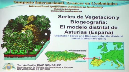 Series de vegetación y Biogeografía: el modelo distrital de Asturias (España)