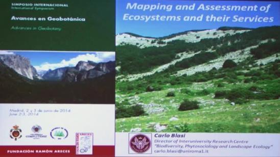 Cartografía y evaluación de los ecosistemas y sus servicios