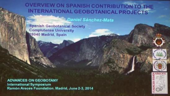 Síntesis: Contribución española a los proyectos geobotánicos internacionales