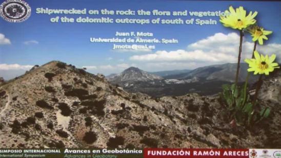 Náufragos en la roca: flora y vegetación de los sustratos dolomíticos en el sur de España