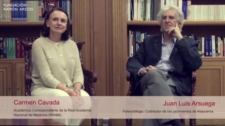 Juan Luis Arsuaga y Carmen Cavada hablan de 'La ciencia de lo humano'